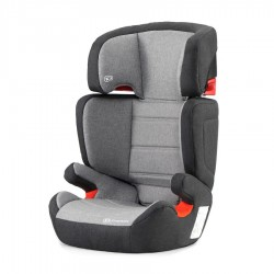 KINDERKRAFT Fotelik JUNIOR FIX ISOFIX 15-36 kg Black Grey