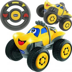 CHICCO Samochód Billy Żółty Zdalnie Sterowany