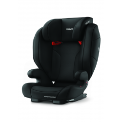 RECARO Fotelik Monza Nova EVO Seatfix PERFORMANCE BLACK 15-36kg