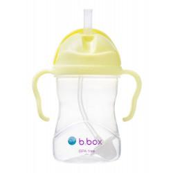 B.BOX Bidon innowacyjny ze słomką bananowy 6+