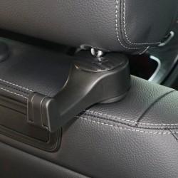 MiniDrive Wieszak wielofunkcyjny na fotel samochodowy czarny