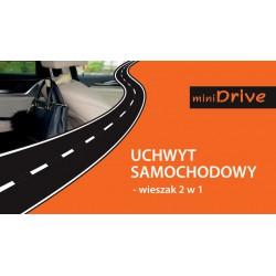 MiniDrive Wieszak wielofunkcyjny na fotel samochodowy beżowy