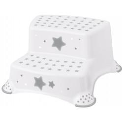 KEEEPER Step Podnóżek Dwustopniowy STARS Biały