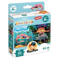 CZUCZU Puzzle Panaromiczne DINOZAURY 60el 4+