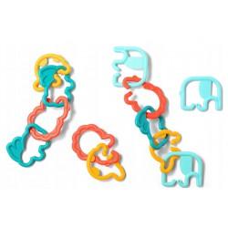 BABYONO Gryzak Elementy Do Łączenia Link 'N' Play