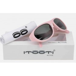 ITOOTI Okulary przeciwsłoneczne  Active Small różowe 0-3LATA