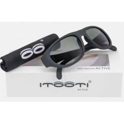 ITOOTI Okulary przeciwsłoneczne Active Medium czarne 3+