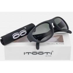 ITOOTI Okulary przeciwsłoneczne Active Large Czarne 7+