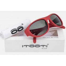 ITOOTI Okulary przeciwsłoneczne  Active Large czerwone 7+