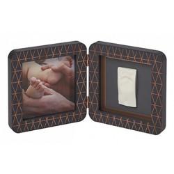 BABY ART  ramka ze zdjęciem+ odcisk copper edition