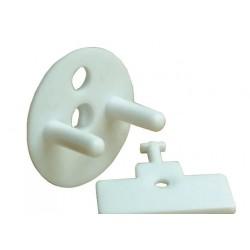 Zaślepki zatyczki gniazdka elektrycznego z kluczykiem