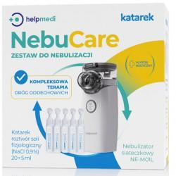 NebuCare KATAREK  Zestaw do nebulizacji