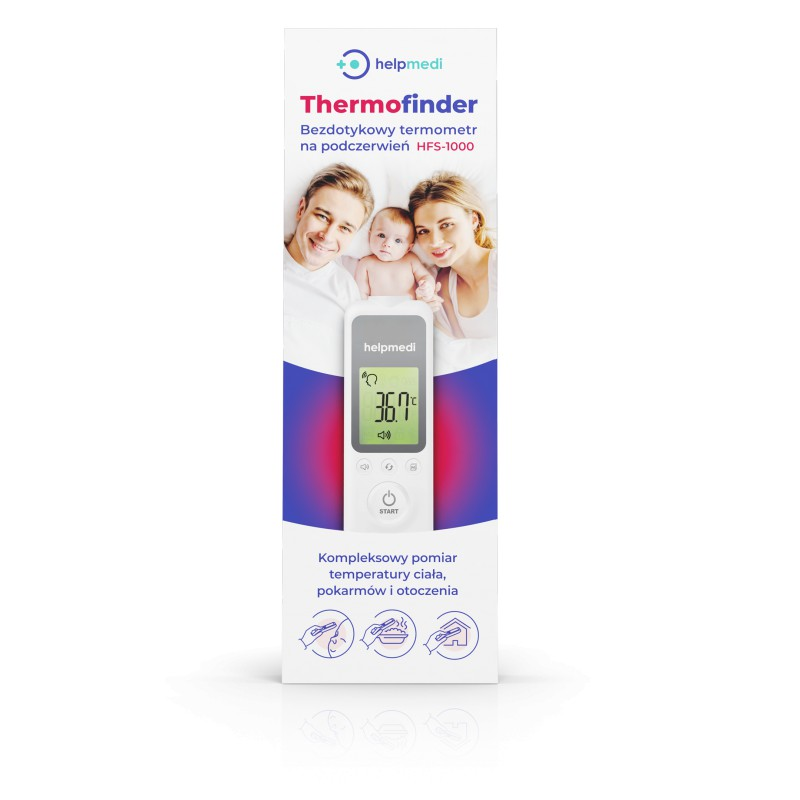 HELPMEDI Termometr bezdotykowy