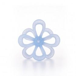 Silikonowy Gryzak Kwiatek Niebieski GILIGUMS