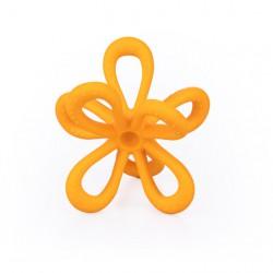 Silikonowy Gryzak Kwiatek Pomarańczowy GILIGUMS
