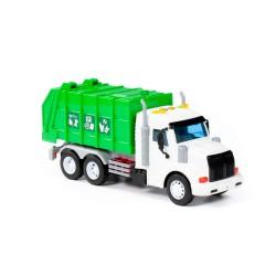 Samochód Śmieciarka Zielona PROFI Polesie
