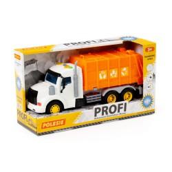 Samochód Śmieciarka Pomarańczowy PROFI Polesie