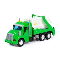 Auto Ciężarowe Kontener PROFI Zielony POLESIE