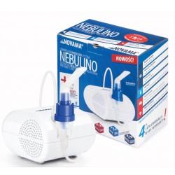 NOVAMA NEBULINO Zestaw do Nebulizacji z Inhalatorem Pneumatyczno Tłokowym
