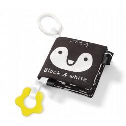 Babyono Książeczka sensoryczna BLACK&WHITE