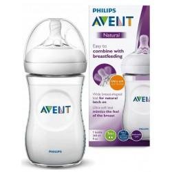 AVENT Butelka dla niemowląt Natural 260ml 1m+ 033/17
