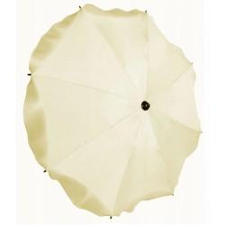 Uniwersalna parasolka okrągła do wózka ecru