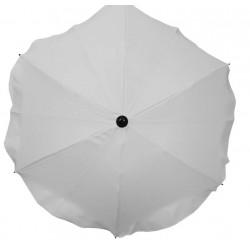 Uniwersalna Parasolka okrągła do wózka biała
