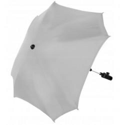 Kwadratowa Parasolka do Wózka Uniwersalna JASNY POPIEL