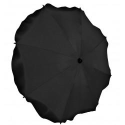 Parasolka uniwersalna okrągła do wózka czarna