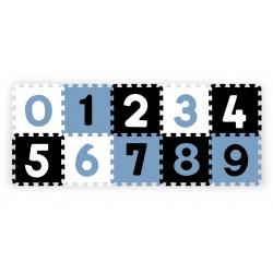 Babyono Puzzle piankowe 10szt. CYFRY kolorowe