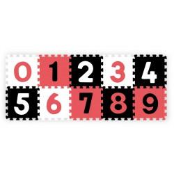 Babyono Puzzle piankowe 10szt. CYFRY