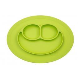 EZPZ Silikonowy talerzyk z podkładką mały 2w1 zielony