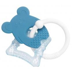 Gryzak silikonowy i chłodzący Myszka niebieska NATTOU