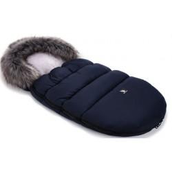 Śpiworek Zimowy Moose Dark Blue Gray COTTONMOOSE