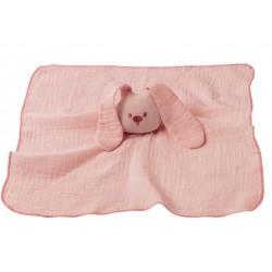 Bawełniana przytulanka różowa NATTOU
