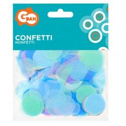 Konfetti papierowe kółeczka pastelowe GoDan