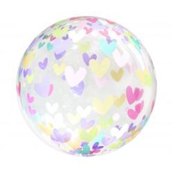 GoDan Balon okrągły w serduszka 18 cali