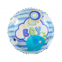 GoDan Balon Foliowy Okrągły BABY BOY