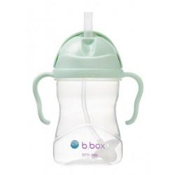B.BOX Bidon innowacyjny ze słomką pistacjowy 6m+