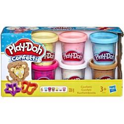 Play Doh Ciastolina Zestaw 6-pak Confetti