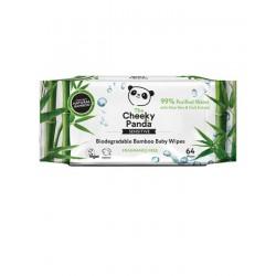 CHEEKY PANDA Chusteczki bambusowe 64szt.