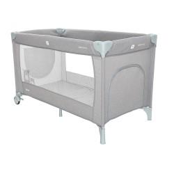 Coto Baby Łóżko podróżne SAMBA 22 GREY LINEN
