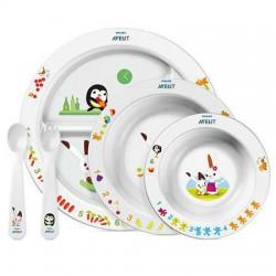 AVENT Zestaw Posiłkowy Obiadowy Dziecięcy 6m+ 716/00