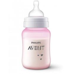 AVENT ANTI-COLIC Butelka antykolkowa OWCA RÓŻOWA 260ml 821/14