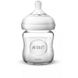 AVENT Szklana Butelka dla niemowląt Natural 120ml