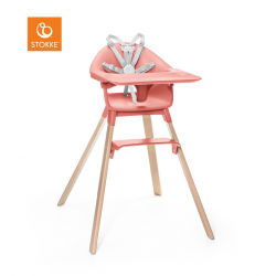 STOKKE Krzesło Clikk High Chair Sunny Coral