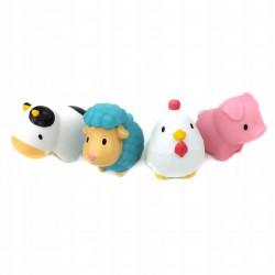 MUNCHKIN Zabawki kąpielowe Mała Farma 4szt