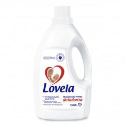 LOVELA Hipoalergiczne Mleczko do prania dla niemowląt do KOLORU 1,5L