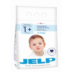 JELP Proszek do prania hipoalergiczny WHITE 1+ 2,2kg