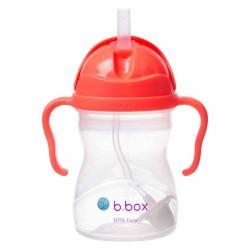 B.BOX Bidon innowacyjny ze słomką arbuzowy
